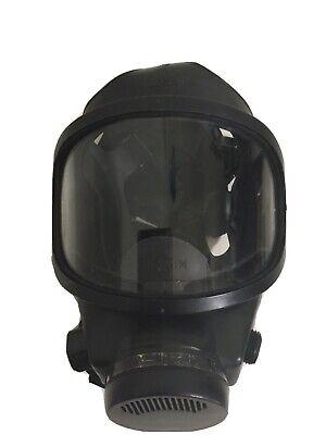 Msa 491944 Full Face Gas Mask Respirator Used Medium Police Fire Gov Surplus