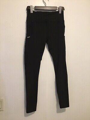 Z by Zobha Women's High Waist Black  Leggings Pants Size S (4-6)