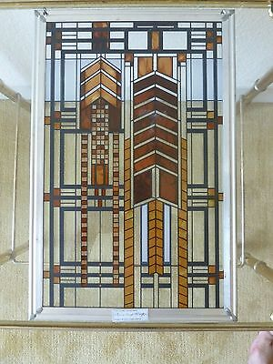 Frank Lloyd Wright Stained Glass Window Hanging