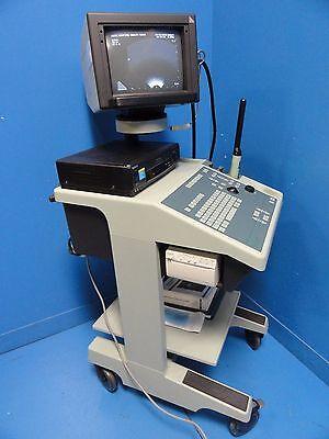 Bk Medical Leopard 2001 Ultrasound W Bi-plane Endorectal Probe Printer 11443