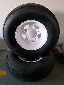Buggy vw 5 stud rims & tyres Tintinara The Coorong Area Preview