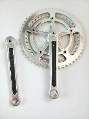 3 Bolt Nervar Chainring Double Ring 52T//40T Gear Rings