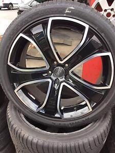 "22"" ADVANTI WHEELS AND TYRES PACKAGE USED BMW X5 $1200 Fawkner Moreland Area Preview"