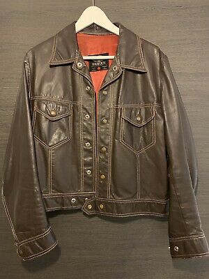 Famous Vintage Retro Leather Crop Jacket