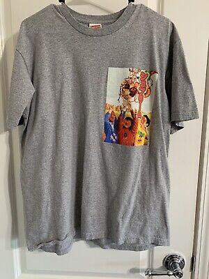 Supreme SS19 Sekintani La Norihiro Artist Tee M Grey Used