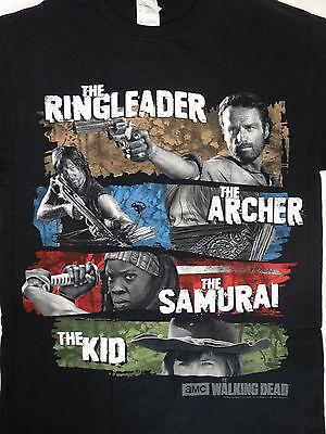 The Walking Dead TWD Michonne Daryl Dixon Rick Grimes Carl Grimes T-Shirt ()