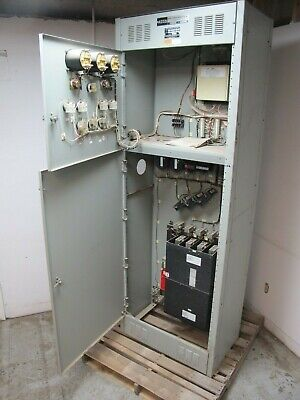 Asco 600 Amp Automatic Transfer Switch 480 V 940 E940360097x 3 Ph Ats 277v Auto