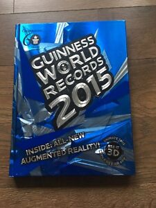 Guinness world record book '15