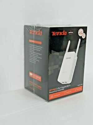 Tenda PA6 Extensor por Línea Eléctrica AV1000 Repetidor WiFi Ethernet Gigabit HP