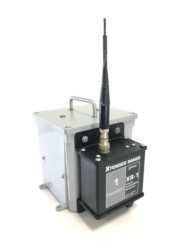 Linear XR-1 Extended Range One Channel Mid-Range Receiver w/ Logic Board Battery