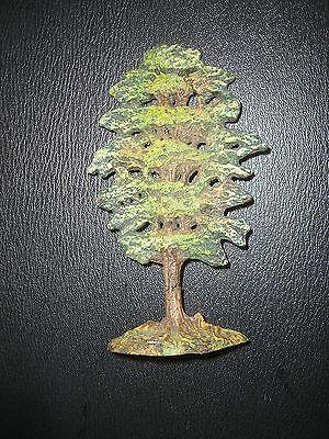 E530/  Hausser Elastolin Baum für Figuren /Tiere  Original  von 1930 Höhe:13,5cm