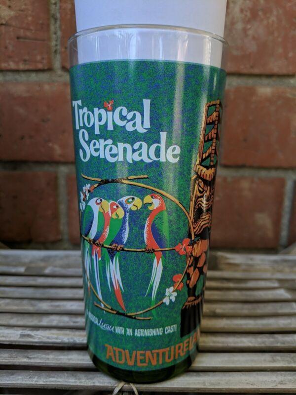 Disney Adventureland Jungle Cruise Tropical Bird Serenade Tiki High Glass Mug