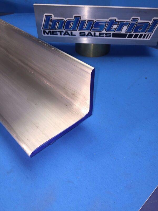 "6061 T651 Aluminum Angle 3"" x 4"" x 12"" Long x 1/4"" Thick"