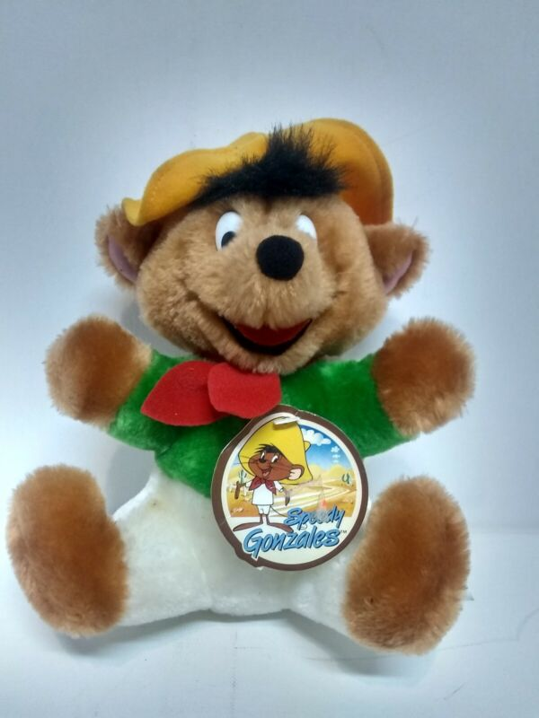 Vintage 1993 Warner Bros Speedy Gonzales Plush New with Tags The 24K Company