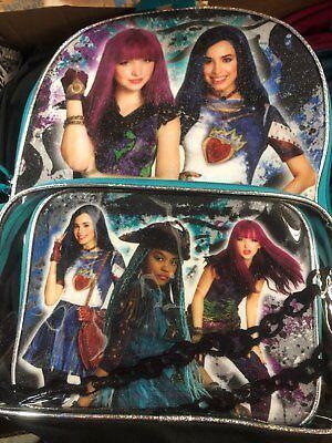 descendants 2 girls bookbag school backpack lunch