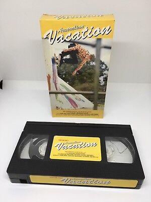 411's 'Australian Vacation' Skate Video VHS NTSC Wray Itkonen Hughes