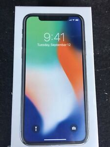 iPhone X 64GB in Silver