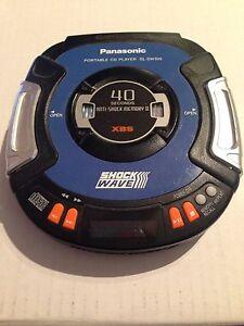 Panasonic Shockwave Portable CD Player Windsor Region Ontario image 1