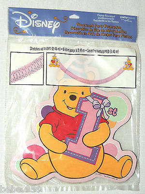 ~WINNIE THE POOH~ 1st BIRTHDAY 1- PAPER  HONEYCOMB DECORATION  PARTY SUPPLIES