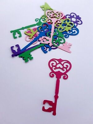 Key Die Cut Outs ( Victorian Style, Vintage Style , Valentines Day Decor,Craft)