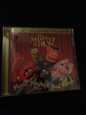 THE MUPPET SHOW: MUSIC, MAYHEM AND MORE! THE 25TH ANNIVERSARY COLLECTION (The Muppet Show Music Mayhem And More)