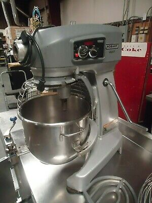 Used Hobart Hl200 Legacy Bakery Pizza Dough 20 Qt Mixer - Bowl Attachements