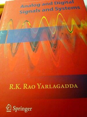 - Analog and Digital Signals and Systems by Yarlagadda Hardback Book