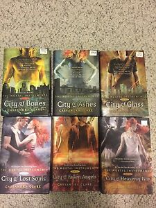 ENTIRE mortal instruments book series