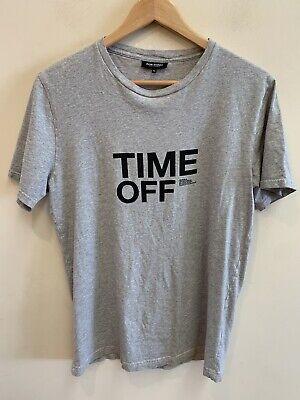 Ron Dorff Men's Time Off Graphic Tee T Shirt Medium