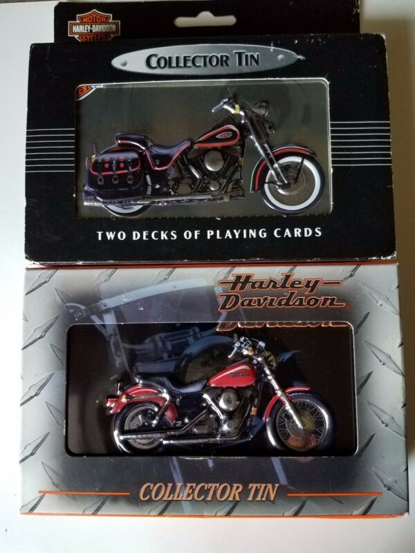Harley Davidson Collector Tin Playing Cards