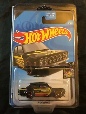 Hot Wheels '71 Datsun 510 MOMO Black Kmart Exclusive