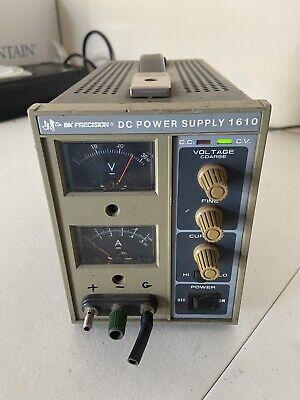 Bk Precision 1610a Dc Power Supply Good