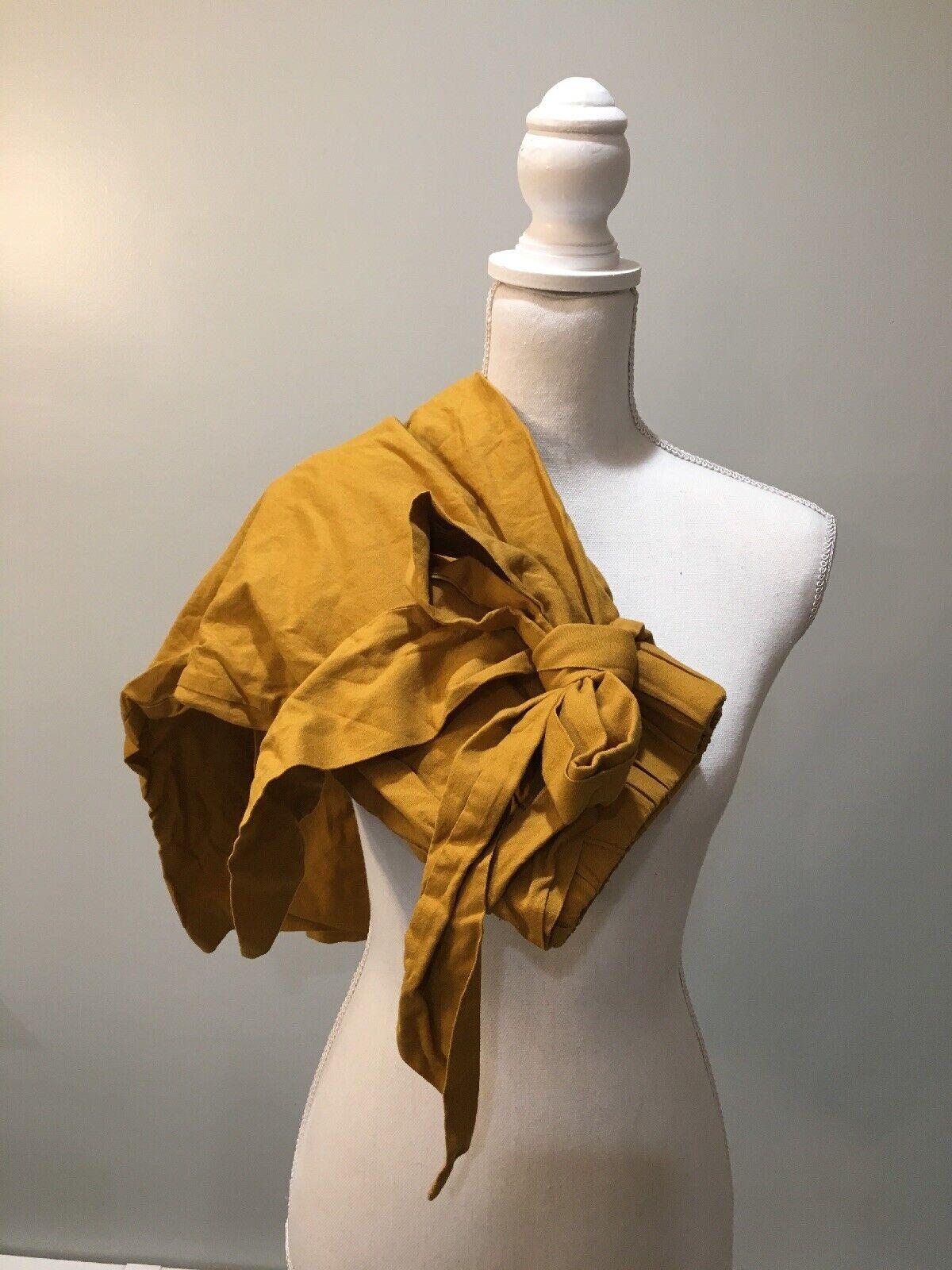 Parenpar Culotte Mustard Yellow Crop Capri Par En