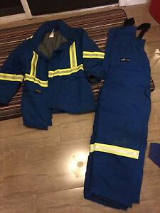 Nomex oil patch work gear, winter Jacket /pants + coveralls