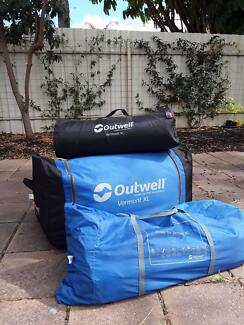 Extra large family tent Outwell Vermont & tent pegs in West Torrens Area SA | Camping u0026 Hiking | Gumtree ...