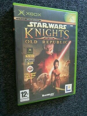 Star wars knights of the old republic, original Xbox,  tested (pal) complete vgc