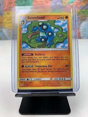 Rare Reverse Holo Pokemon Card NM Seismitoad 117//236 Cosmic Eclipse Set