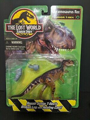 "MOC Jurassic Park The Lost World Tyrannosaurus Rex ""Junior T-Rex"" Kenner 1996"