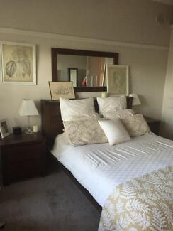 Domayne Plantation Queen Size Bedroom Suite Hamilton South Newcastle Area Preview