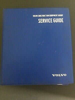Volvo Construction Equipment Service Guide