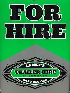 Laney's Trailer Hire Treendale