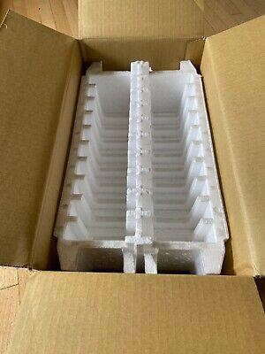 Shipping Foam Hard Drive Storage Box Tray For 20 3.5 Desktop Disk Drives