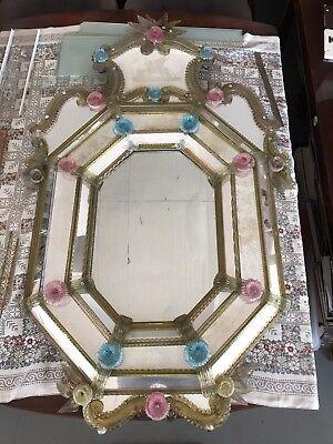 Maison Toso et Barovier - Venetian mirror, Murano, Early 19th century