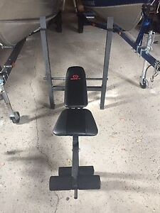 Marcy weight bench and equipment