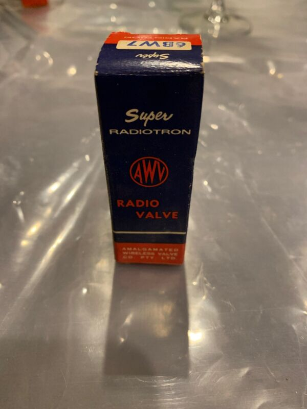 Vintage Radiotron 6BW7 Vacuum Tube - NOS, Tested & Good