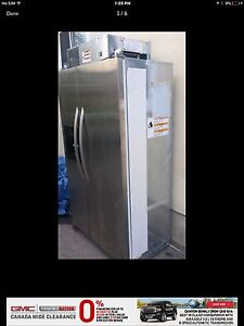 Large kitchen aid built in fridge, priced to sell!!