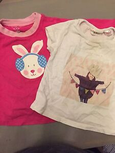 2 9-12 mth girl top