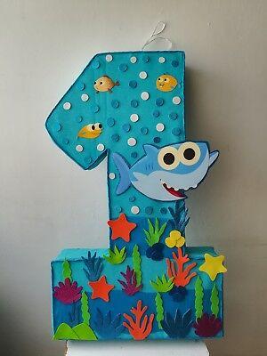 BABY SHARK PINATA, UNDER THE SEA BIRTHDAY PARTY, BABY ANIMALS SEA](Under The Sea Animals)