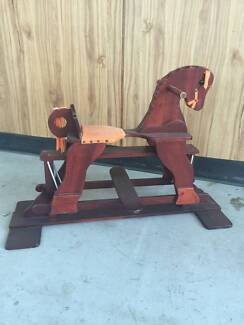Wooden Ride-on Rocking Horse