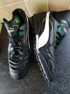 Very Rare 1996 Puma King Okocha Astroturf/Casual Trainers UK Size 9 VGC